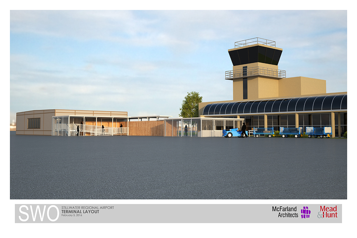 Rendering of terminal extension