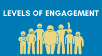 Levels of engagement graphic