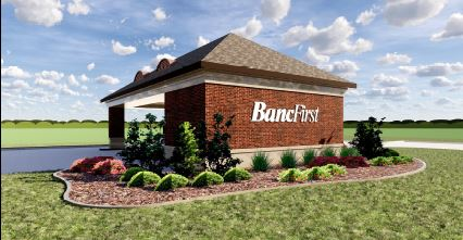 Image of a Bancfirst drive-thru