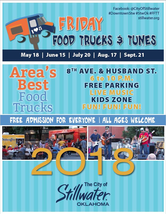 You can find more information on booth applications, contributor packets  and mobile food vendor applications at http://stillwater.org/news/id/188