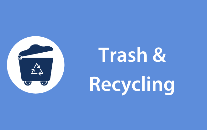 Trash & Recycling Graphic